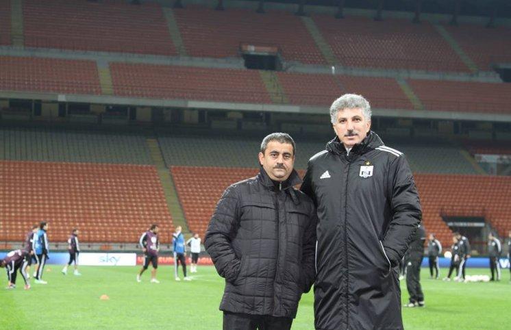 Sadıq Sadıqovun ayaq səsləri