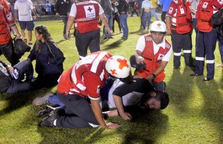 Hondurasda futbol qətliamı - 3 ölü, 12 yaralı (FOTOLAR)