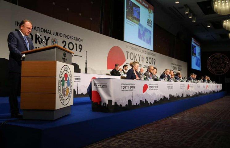 Federasiyanın baş katibi beynəlxalq konqresdə iştirak edib (FOTOLAR)