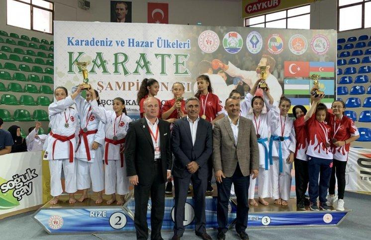 Karateçilərimiz Türkiyədə fərqləndi (FOTOLAR)
