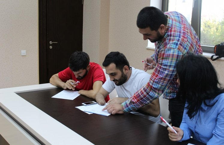 AMADA para-taekvondoçulara seminar keçdi (FOTOLAR)