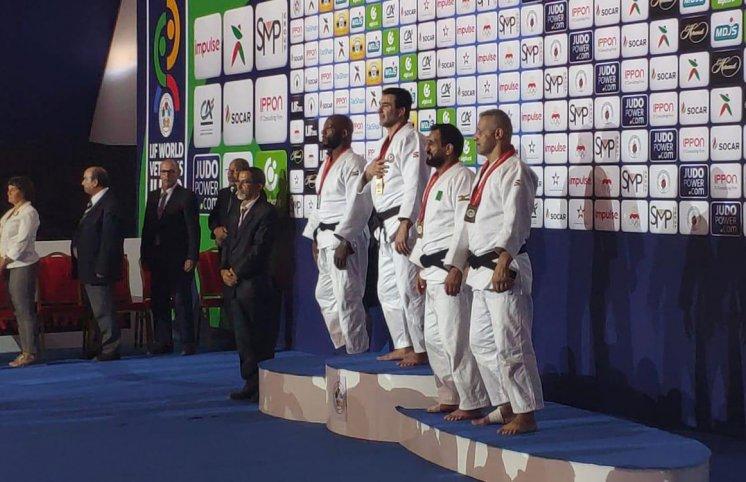 Veteran cüdoçularımız Mərakeşdə daha iki medal qazandı
