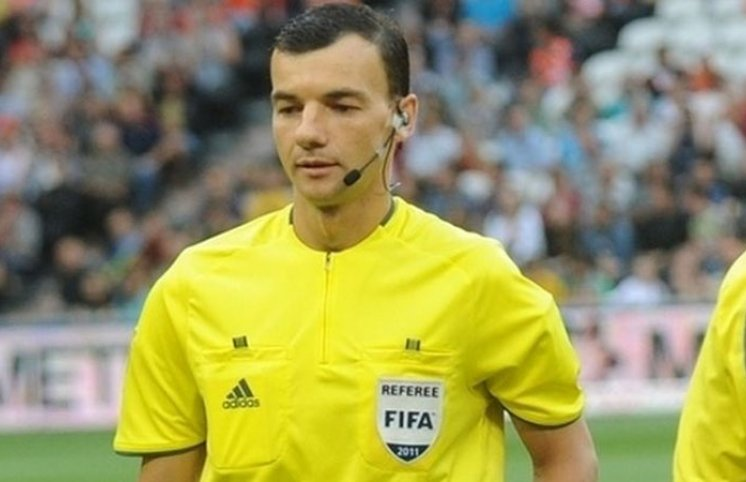 Slovakiya - Azərbaycan oyununun hakimləri