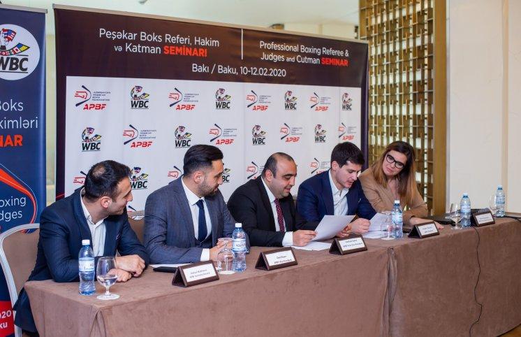 Azərbaycan Peşəkar Boks Federasiyası ölkədə ilk dəfə WBC ilə təlimlər təşkil etdi (VİDEO)