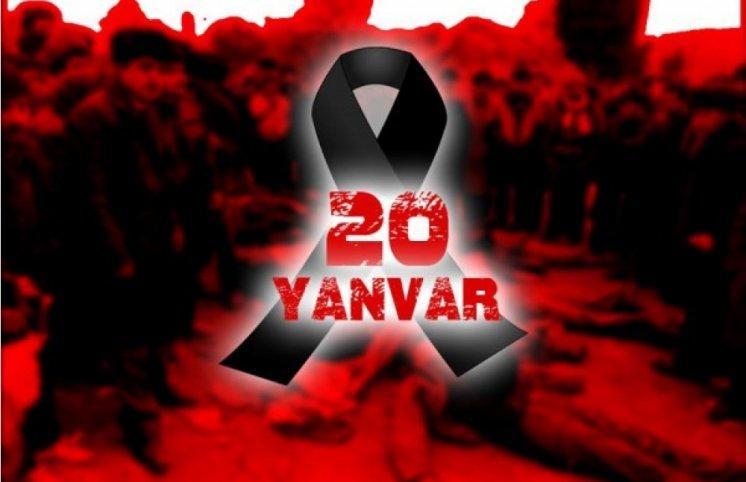 Bu gün Azərbaycanda 20 Yanvar - Ümumxalq Hüzn Günüdür